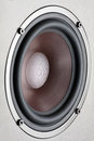 Sound speaker one close up Stock Photography