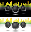 Sound speakers Royalty Free Stock Images