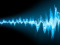 Sound wave abstract background eps vector file included Royalty Free Stock Photo
