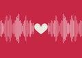 Sound Waves Bar Illustration O...