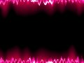 Sound waves oscillating on black eps background vector file included Stock Photography