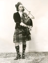 The sounds of Scotland Royalty Free Stock Photo