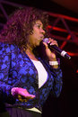 Sounds of success lincoln ca – december mary davis s o s performs in support holiday jam at thunder valley casino resort Royalty Free Stock Photos