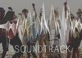 Soundtrack Audio Background Balance Media Concept Royalty Free Stock Photo