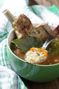 Soup with beef rib Royalty Free Stock Photos