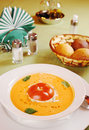 Soup  Gazpacho Stock Photography