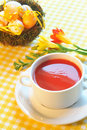 Soup of tomato Royalty Free Stock Image