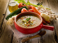 Soup vegetable Royalty Free Stock Photos
