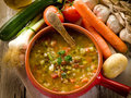 Soup vegetable Stock Photos