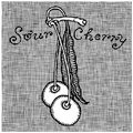 Sour cherry woodcut Royalty Free Stock Photos