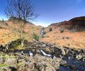 Sour milk gill force easedale Stock Image