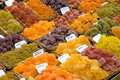 Sour sweets at a market Royalty Free Stock Photo