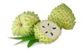 Soursop section Stock Images