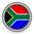 South Africa flag button Royalty Free Stock Photography