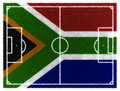 South Africa football field Stock Photo
