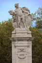 South Africa statue near Buckingham palace Royalty Free Stock Photo