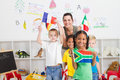 South african preschooler Royalty Free Stock Photography