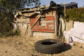 South African Shanty Royalty Free Stock Photo