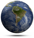 South america elements of this image furnished by nasa Royalty Free Stock Photos