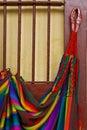 South America - Mayan hammock Royalty Free Stock Photo