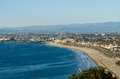 South bay of los angeles from redondo beach Stock Photography