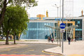 South Bus Station in Burgas, Bulgaria Royalty Free Stock Photo