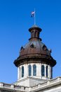 South carolina capital dome of the state house located in columbia sc usa Royalty Free Stock Image