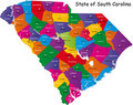 South Carolina state Stock Photography