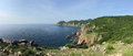 South China Sea coastline in Da nang Royalty Free Stock Photo