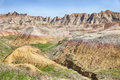 South Dakota Badlands Landscape Royalty Free Stock Photo