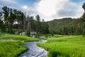 South Dakota landscape Royalty Free Stock Photo