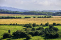 South downs view from the way footpath sussex england uk Royalty Free Stock Photography