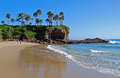 South end of crescent bay laguna beach californi image shows the in north california Royalty Free Stock Photo