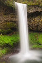 South Falls during the spring at Silver Falls Stat Royalty Free Stock Photo