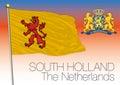 South Holland regional flag, Netherlands, European union