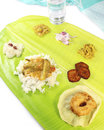 South indian meals Royalty Free Stock Photo
