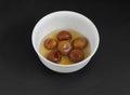 South indian sweet gulab jamun food Royalty Free Stock Image