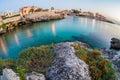 South of italy Gallipoli  coast Stock Image