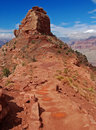 South Kaibab trail, Grand canyon Royalty Free Stock Images