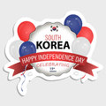 South Korea flag in the correct Size, proportion and color. Sticker for your design.