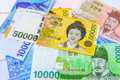 South Korean Won Currency. Royalty Free Stock Photo