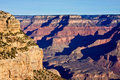 South Rim of the Grand Canyon Royalty Free Stock Photo