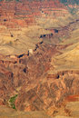 South rim of grand canyon in arizona panorama view the Stock Photography