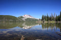 South Sister from Sparks Lake Royalty Free Stock Image