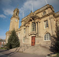 South Tyneside Town Hall Royalty Free Stock Photo