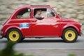 South tyrol classic cars fiat schenna italy july vintage car rally schenna see also http www suedtirolclassic com Stock Image