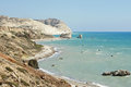 Southcoast of cyprus europe landscape on the south coast Stock Image