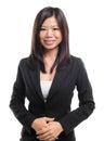 Southeast Asian business / educational woman Stock Photo