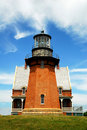 Southeast Lighthouse, Block Island Royalty Free Stock Photography