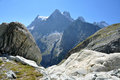 Southern alps france french alp mountains europe Royalty Free Stock Photography